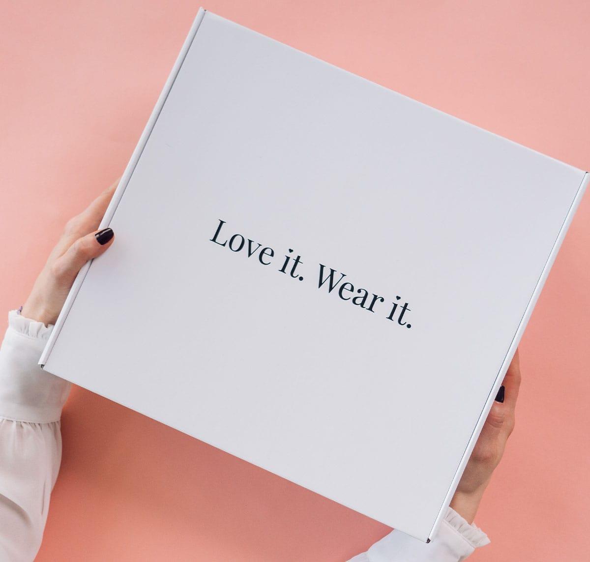 love it wear it kutija